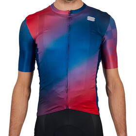 Sportful Rocket Jersey Men, blue red